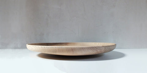 hand turned wooden platter XL