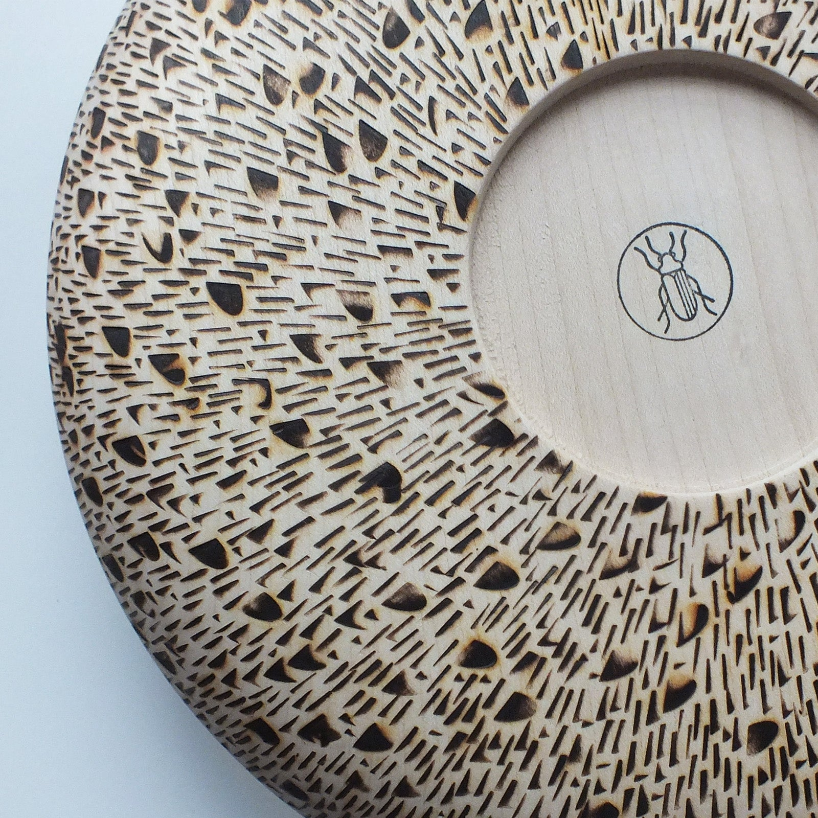 big bowl - burned pattern