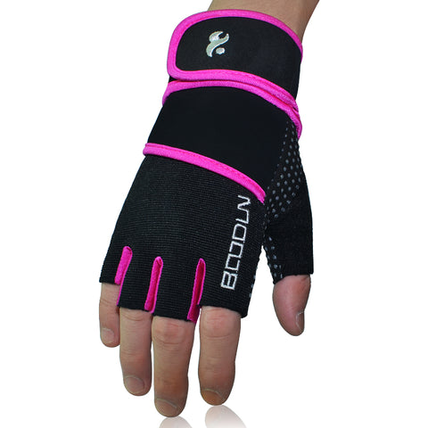 Women Wrist Wrap Sports Gloves