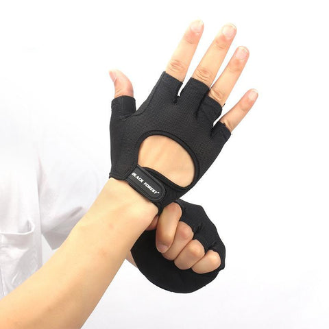 Anti Slip Gym Fingerless Glove