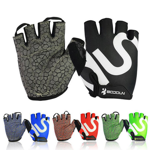 Sports Training Fingerless Gloves