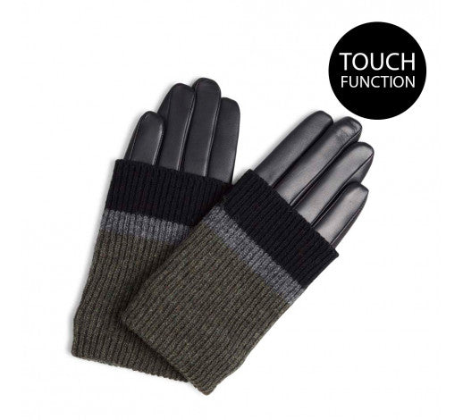 HELLYGLOVE-BLACK-GREY-OLIVE
