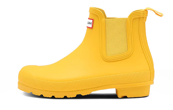 HUNTER WOMEN'S ORIGINAL CHELSEA BOOTS YELLOW NAISTEN KUMISAAPPAAT