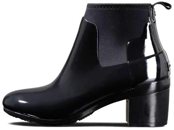 WOMEN'S REFINED MIDHEEL GLOSS BLACK