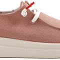 HEYDUDE WENDY RISE CHAMBRAY ROSE CANVAS ULTRA KEVYT LOAFER