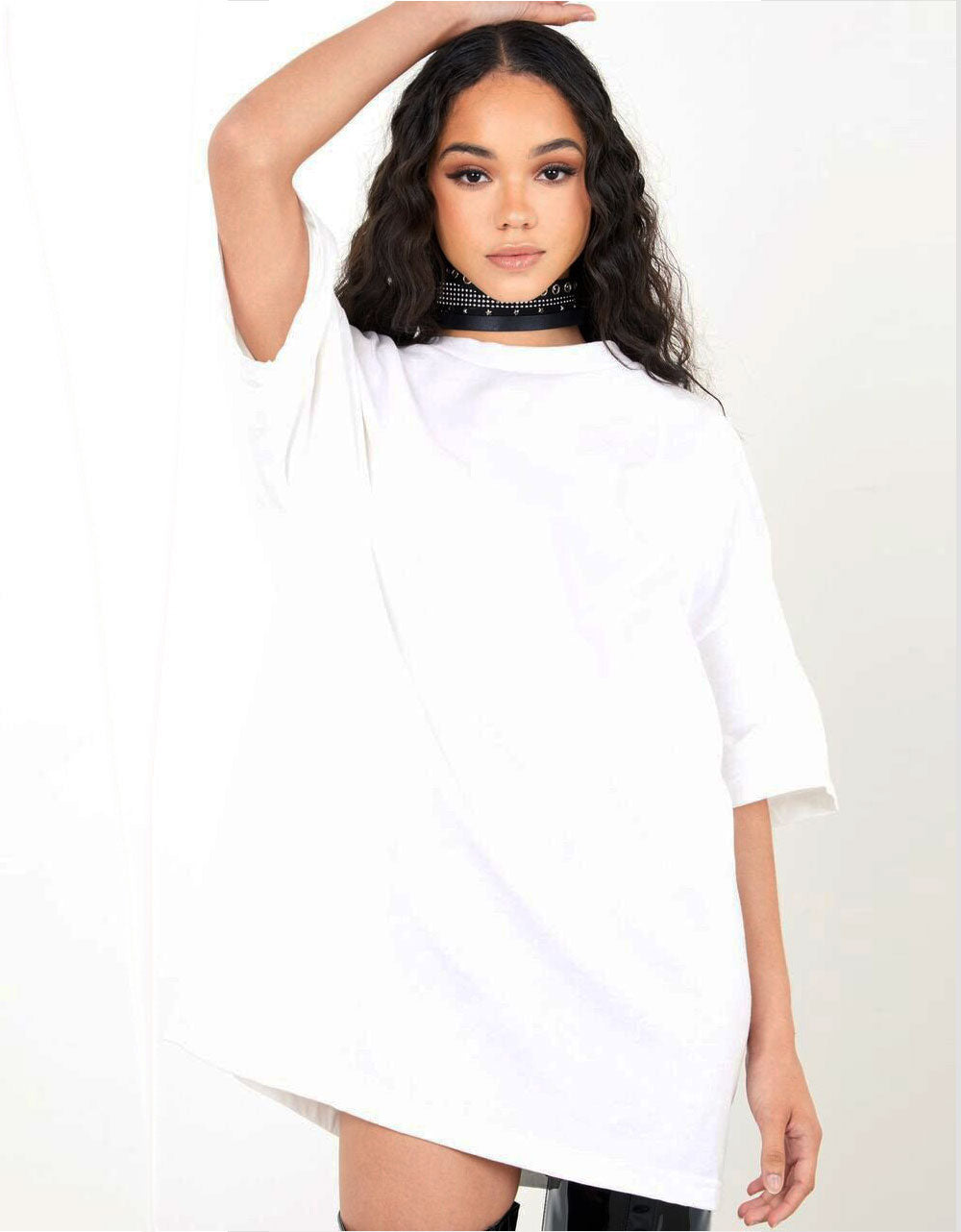 Simple - T-shirt Oversize Blanc