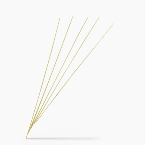 2mm #0 10-Inch Bamboo Double Point Knitting Needles