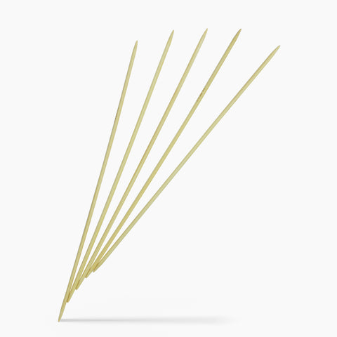 3.5mm #4 10-Inch Bamboo Double Point Knitting Needles