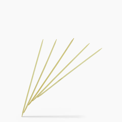 3.5mm #4 8-Inch Bamboo Double Point Knitting Needles
