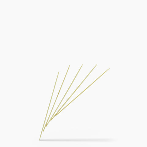 2mm #0 6-Inch Bamboo Double Point Knitting Needles