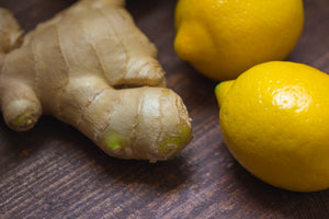 Healthy fat burning ginger infused water