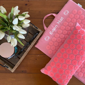 'Eden' Acupressure Mat & Pillow combo