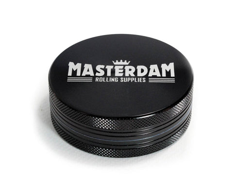 Masterdam 2-Piece Black Grinder Large 2.5""