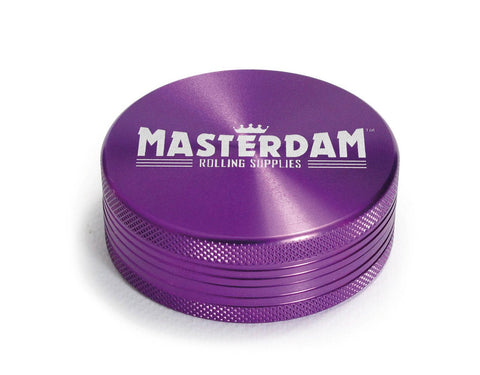 Masterdam 2-Piece Purple Grinder Large 2.5""
