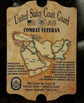 USCG Combat Veteran (Middle East) Plaque