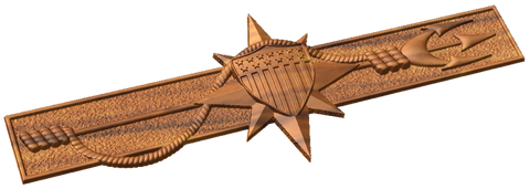 3D USCG Marine Safety Insignia