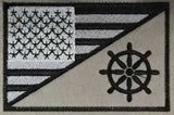 USCG American Flag Patches