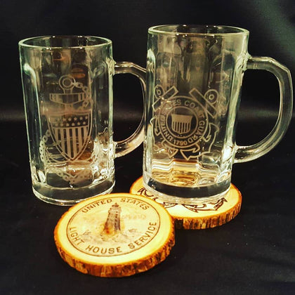 Pint Sized Beer Mugs
