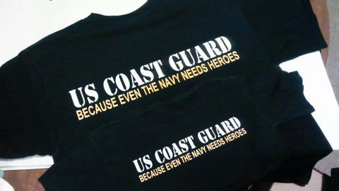 USCG Because Even The Navy Needs Heroes