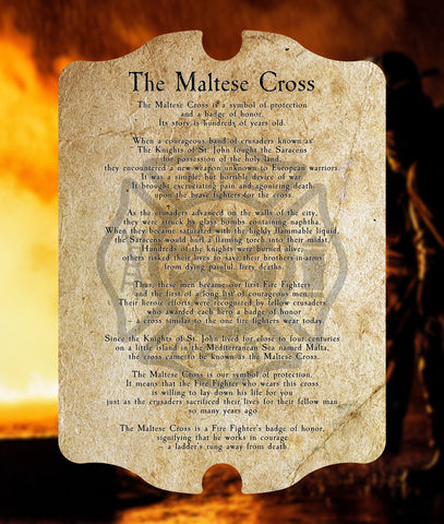 The Maltese Cross Plaque