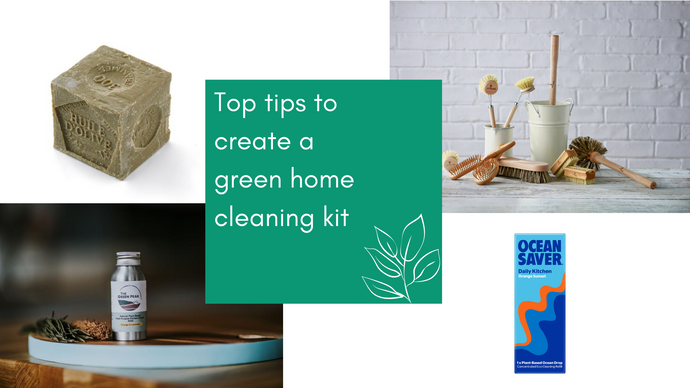 Top tips to create a green home cleaning kit