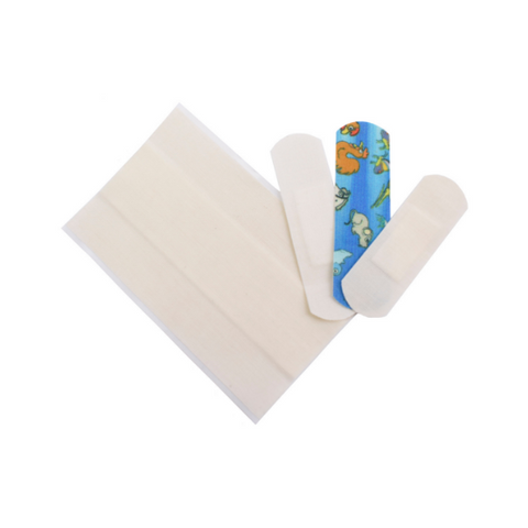 Plastic-free and non-toxic plasters