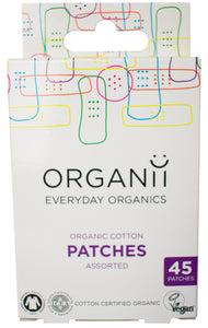 Organii eco-friendly plasters pack of 45