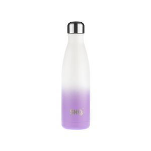 SHO eco-friendly reusable bottle frosted lilac 500ml