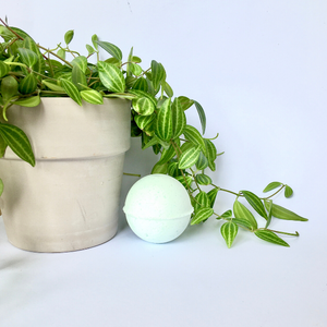 Eco-friendly and natural bath bomb  minty fresh