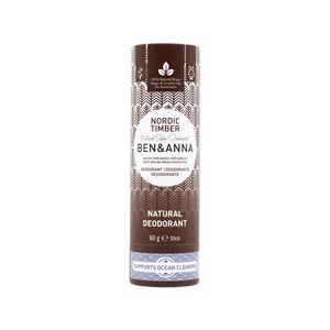 Ben and Anna natural deodorant Nordic timber