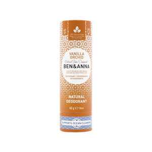 Ben and Anna natural deodorant in paper tube Vanilla orchid