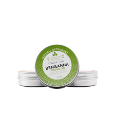 Load image into Gallery viewer, Ben and Anna natural deodorant metal tin Persian Lime
