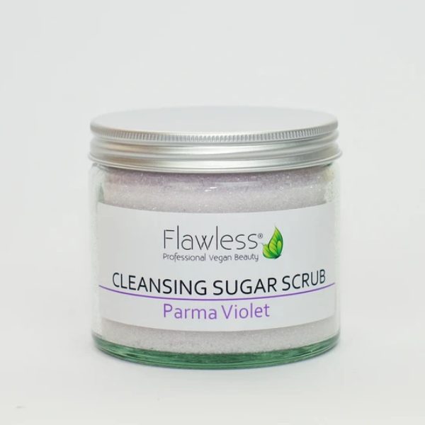 Cleansing sugar body scrub