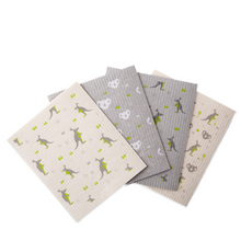 Load image into Gallery viewer, Compostable sponge cloths 4 pack