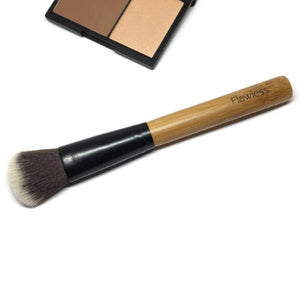 Eco friendly cruelty free contouring brush