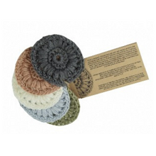 Load image into Gallery viewer, Crochet face scrubbies