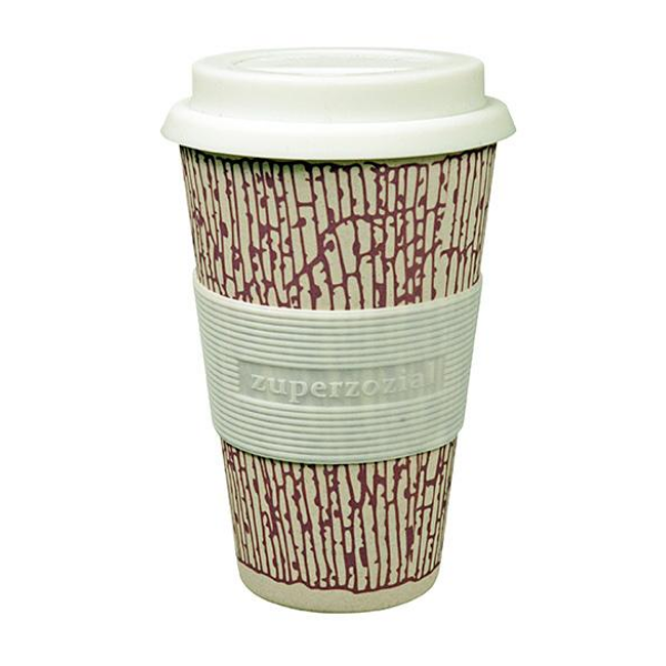 Cruising travel mug purple