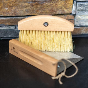 Eco-friendly dustpan and brush
