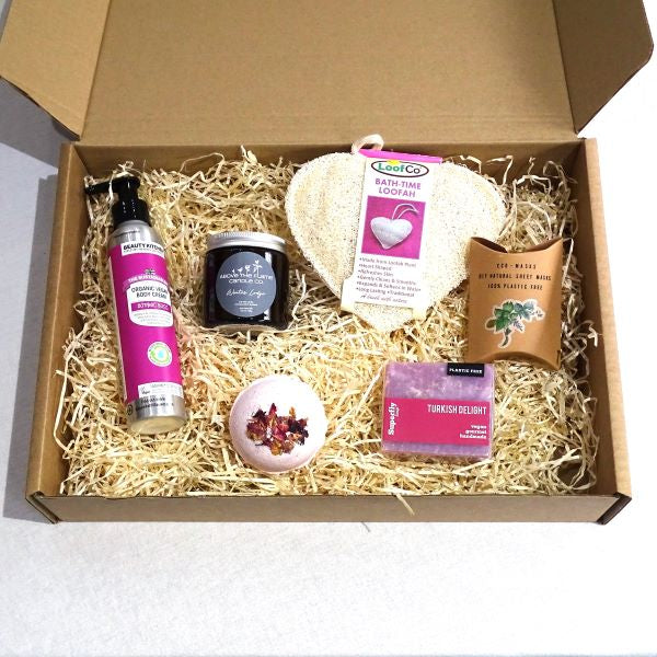 Eco-friendly gift set Pamper Winter Lodge