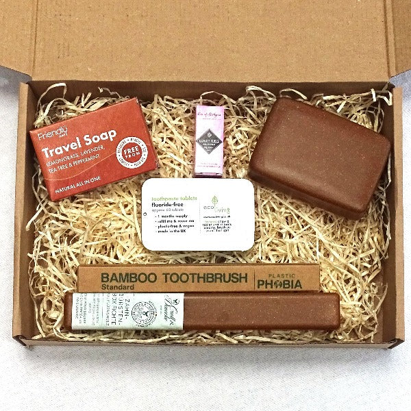 Eco-friendly gift set for travel