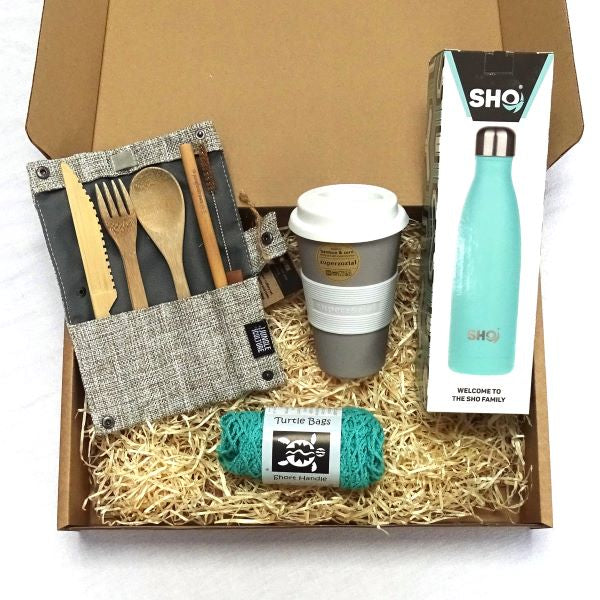 Eco-friendly gift set Out and About Aqua