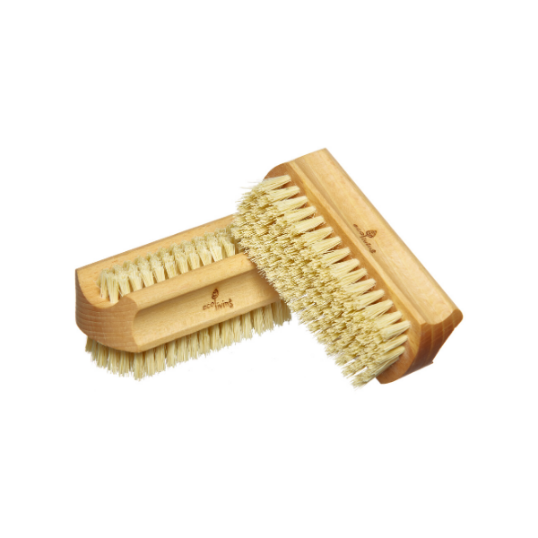 Eco-friendly wooden nail brush