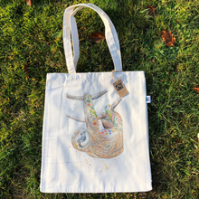 Load image into Gallery viewer, Eco-friendly tote bag Sloth