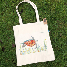 Load image into Gallery viewer, Eco-friendly tote bag Turtle
