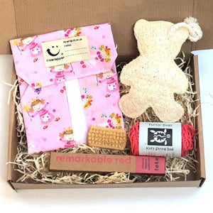 Eco-friendly kid's gift set Pink fairy princess
