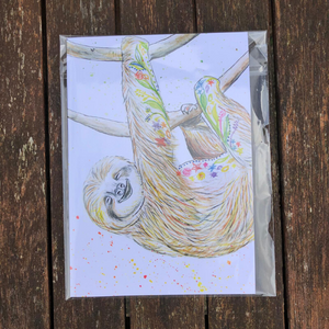 Eco notepad Sophie the Sloth