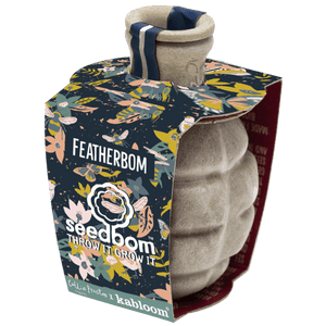 Seedbom gift set featherbom