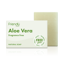 Load image into Gallery viewer, Friendly Soap soap bar Aloe vera
