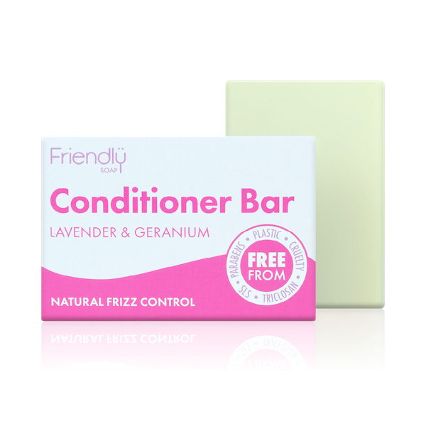 Friendly soap eco-friendly conditioner bar Lavender and geranium