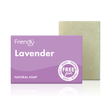 Load image into Gallery viewer, Friendly Soap soap bar Lavender